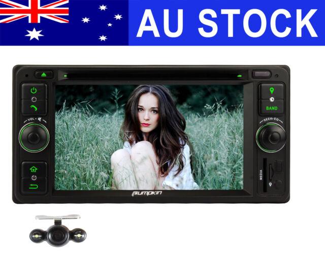 "6.2"" Car DVD GPS For Toyota Hilux Prado Hiace Tarago RAV4 Collora 4Runner+Camera"