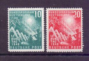Bund-1949-Bundestag-MiNr-111-112-postfrisch-Michel-100-00-924