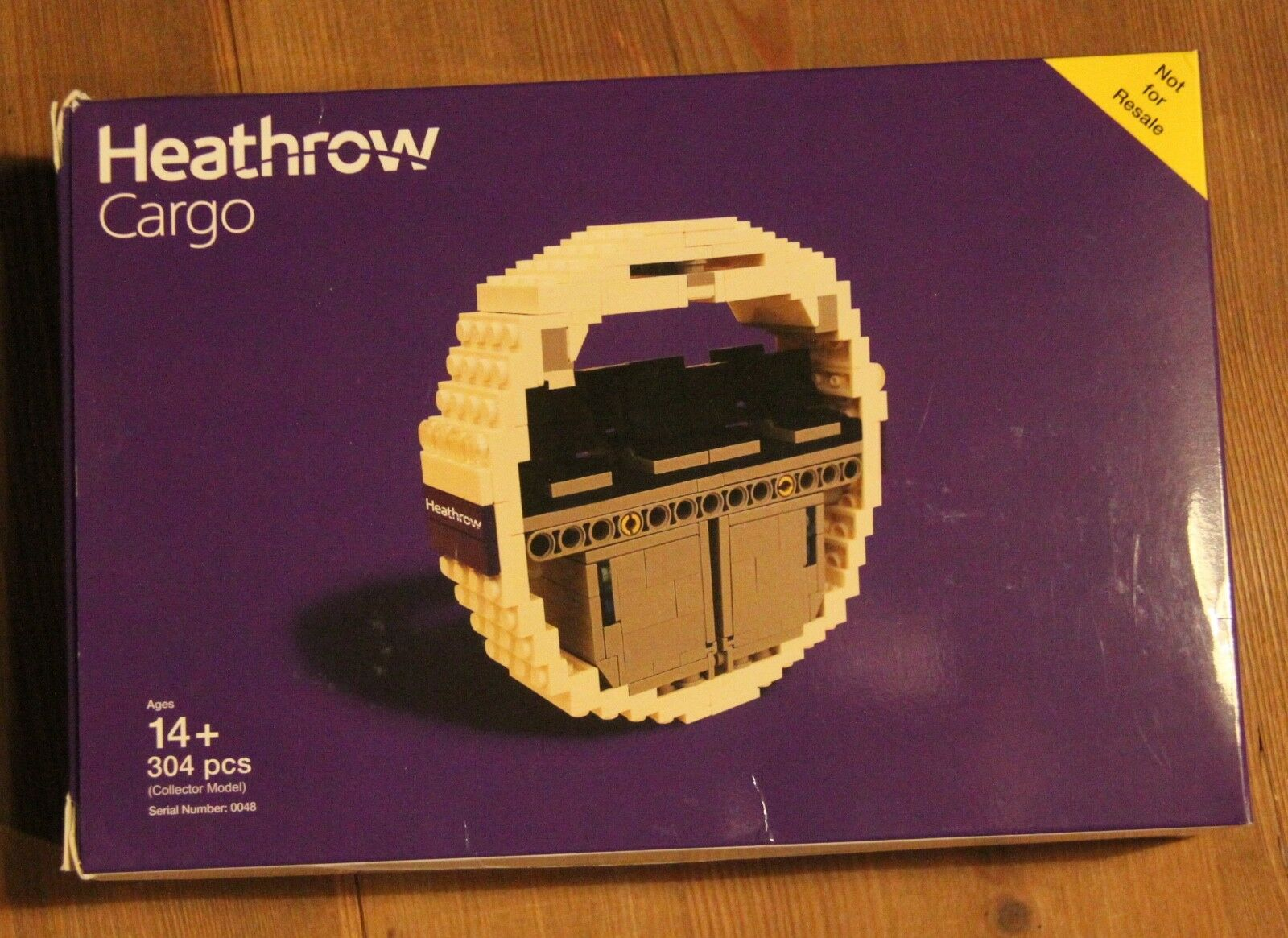 LEGO Heathrow Cargo Certified Professional Limited Edition Edition Edition ddbfb3