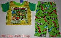 Teenage Mutant Ninja Turtles Boys 24 Mo 2t 3t 4t 5t Pjs Set Pajamas Shirt Pants