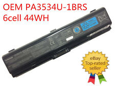 Genuine Original Toshiba Satellite L555D-S7005 Battery PA3534U-1BRS 6Cells 44WH