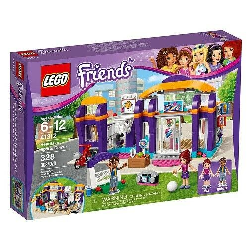 NEW Lego FRIENDS (41312) Heartlake Sports Centre - 328 pcs