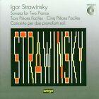 Igor Strawinsky: Sonata for Two Pianos; Trois PiŠces Faciles; Cinq PiŠces Faciles; Concerto per due pianoforti soli (CD, Apr-1993, Wergo)