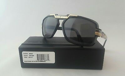 002 GLOSS BLACK RED MEN/'S SUNGLASSES MADE IN GERMANY 884 COL CAZAL MOD