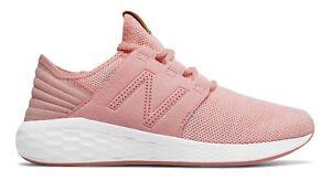 New-Balance-Kid-039-s-Fresh-Foam-Cruz-Knit-Big-Kids-Female-Shoes-Pink