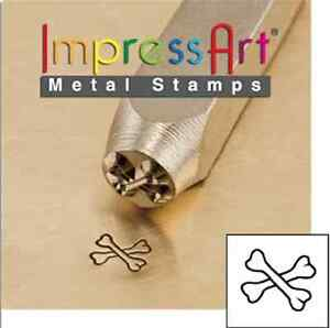 floral pattern Flourish I metal jewellery stamping 3mm Metal stamp punch