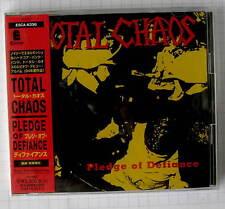 TOTAL CHAOS - Pledge Of Defiance JAPAN CD OBI RAR! ESCA-6336