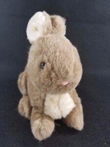 Vintage 1983 Dakin Realistic Bunny Rabbit Stuffed Animal Lovey Toy