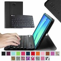 Slim Bluetooth Keyboard Case Stand Cover For Samsung Galaxy Tab A 8.0 Sm-t350
