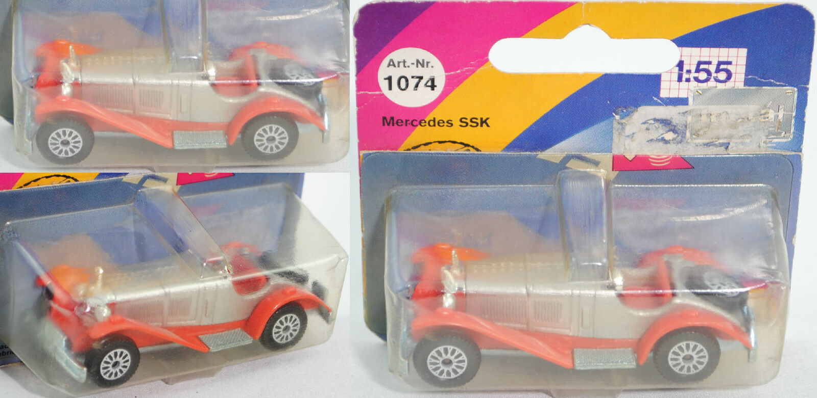 SIKU SUPER 1074 MERCEDES-BENZ MERCEDES-BENZ MERCEDES-BENZ SSK Type 27 (W 06 III) environ 1:55 bc6770