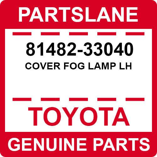 Toyota 81482-74050 Fog Lamp Cover