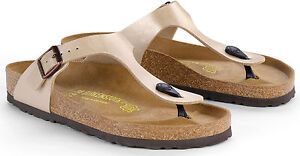 birkenstock gizeh antique lace shown on