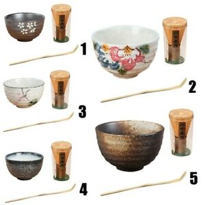 Natural-Bamboo-Make-Matcha-Tea-Powder-Plus-Optional-Whisk-Scoop-Home-Bowl-Set
