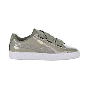 Details about Puma Basket Heart Patent Women's Shoes Rock Ridge 363073-12