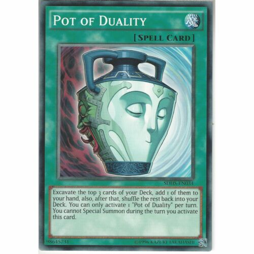 SDHS-EN034 Pot of DualityUnlimitedCommon CardYuGiOh TCG Hero/'s Strike