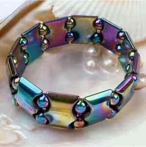 Multi-Couleur Hématite Thérapie Magnétique Bracelet