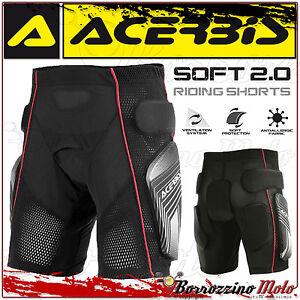 ACERBIS-SOFT-2-0-RIDING-SHORTS-PANTALONCINO-INTIMO-PROTETTIVO-MOTOCROSS-ENDURO