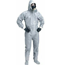 Dupont Tychem CPF2 Hazmat Suit with Hood & Boot Covers ( Choice of Sizes )