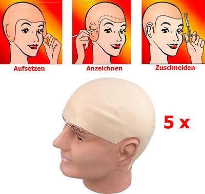 Gefälschte Latex Fleisch Hauts Unisex Glatze Kopf Perücke Kappe Gummi  Skinheads