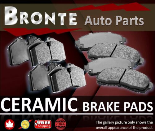 2014 2015 2016 2017 For Acura MDX Front and Rear Ceramic Brake Pads