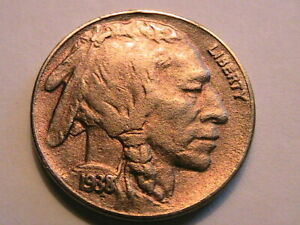 1938-D-Buffalo-Nickel-Nice-XF-Extra-Fine-Indian-Head-5-Cent-Coin