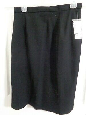 Nwt Women S Austin Reed Arica Black Skirt Size 12 Lined Cotton Spandex Free Ship Ebay