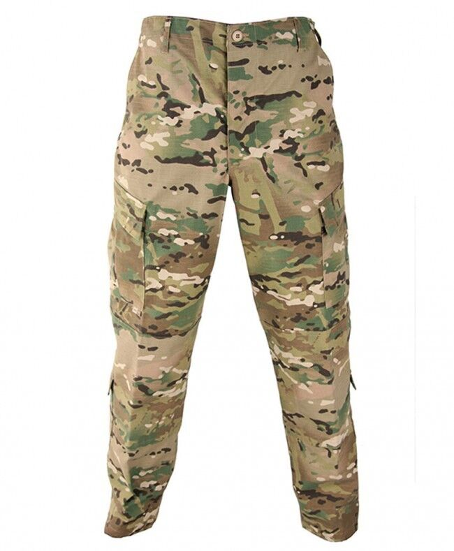 US Army Multicam Combat Tactical Combat Multicam  Tarnhose Hose pants Medium Long 7bf11d