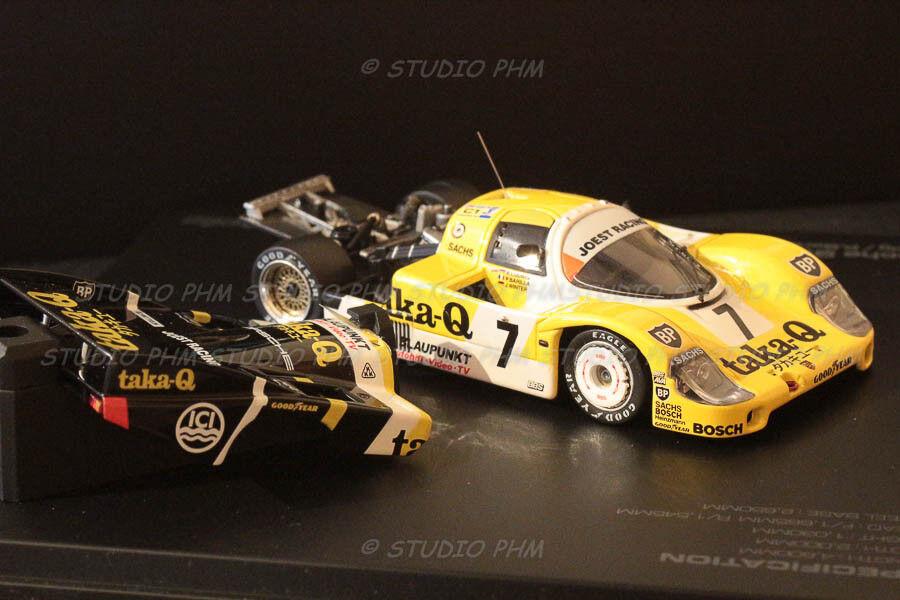 PORSCHE 956 N°7 JOEST RACING RACING RACING TAKA-Q 24H du MANS 86 1 43 HPI extrem Rar No Spark 4a9e77