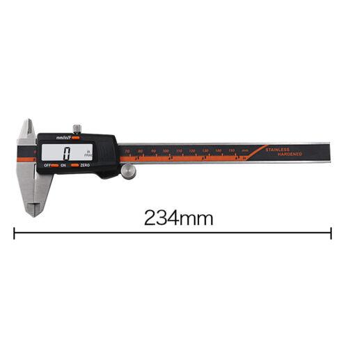 "Professional 150mm 6/"" LCD Display Digital Vernier Caliper Gauge Precision Tool"