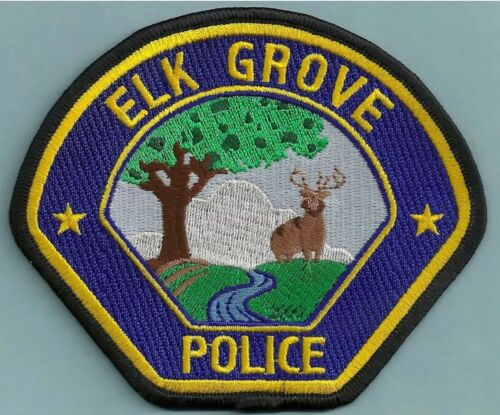 ELK GROVE CALIFORNIA POLICE PATCH