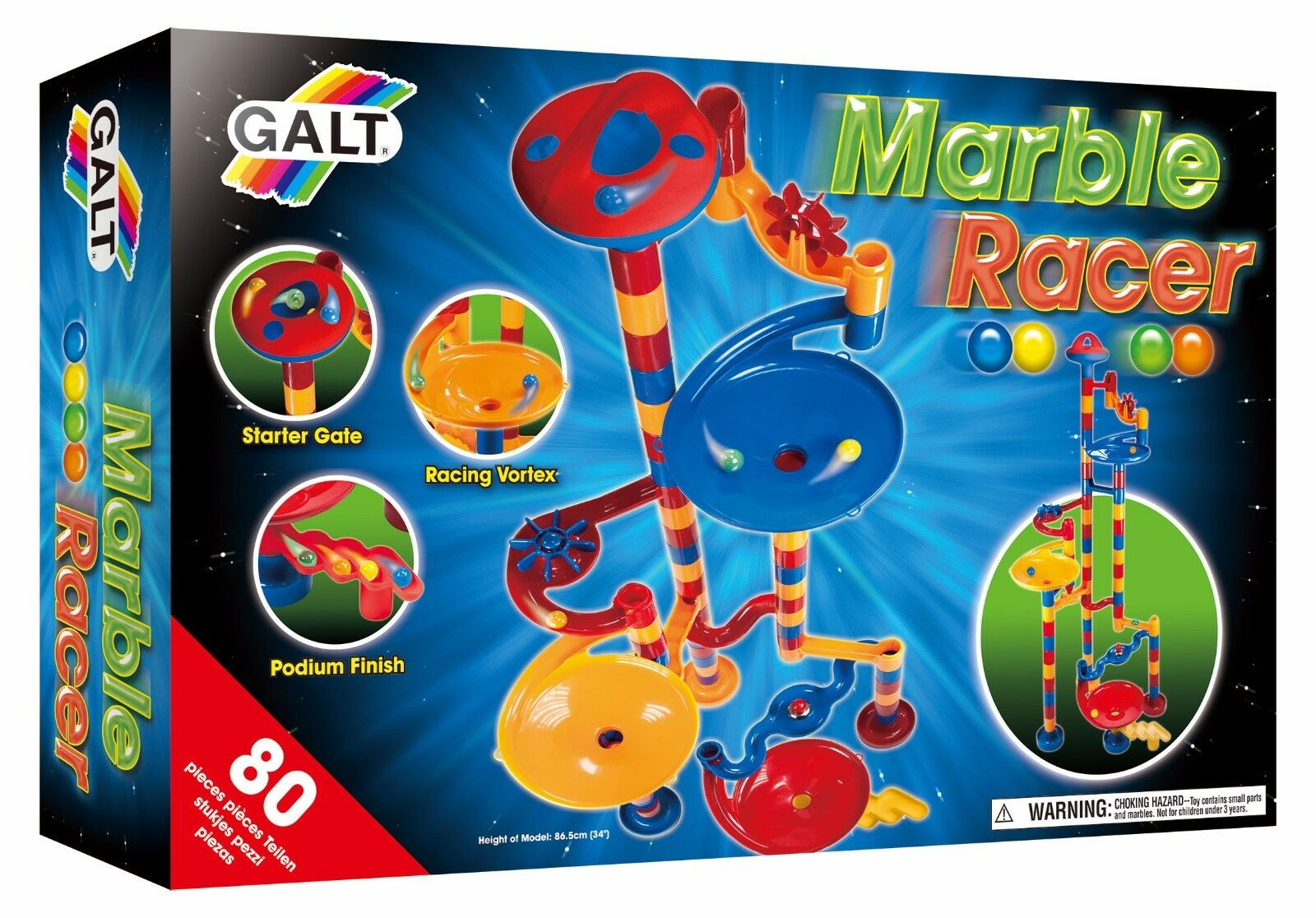 Galt Marble Racer Construction Toy For Kids - FAST & FREE DELIVERY