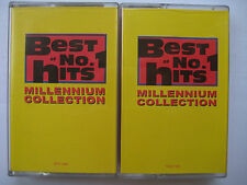 Best of No.1 Hits Millennium Collection X 2 Original Cassette Malaysia Edition