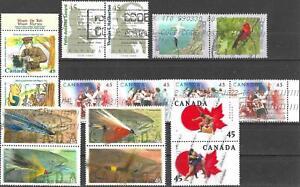 Kanada gestempelt #1381/2 >> ZD aus Jahr 1996-1999 <<