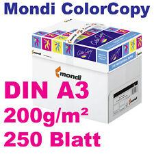 ColorCopy 200g DIN A3 250 Blatt Mondi Neusiedler Druckerpapier weiß Color Copy