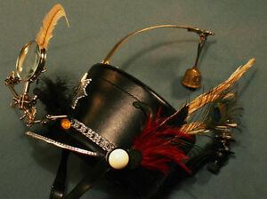 Inspector Gadget Steampunk Music Hat Compass Bell Magnifying