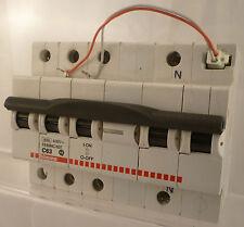BTICINO interruttore automatico MAGNETOTERMICO 3P+N 63A FE83NC 63T +bob. sgancio