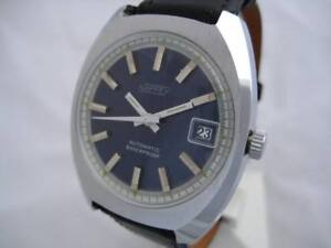 NOS-NEW-VINTAGE-BIG-AUTOMATIC-DATE-SHOCK-RESIST-NAPPEY-MEN-039-S-ANALOG-WATCH-1960-039-S