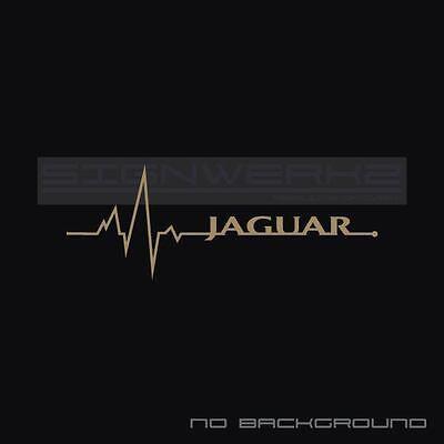 Jaguar Racing Decal Sticker logo british Racing F type XJR New UK R Spec Pair