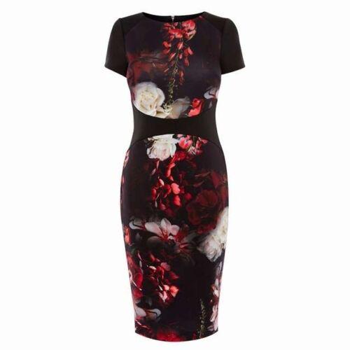 BR20 Ex Coast Multicolor NUORO Imprimer Felicity Robe Moulante Taille 6-18
