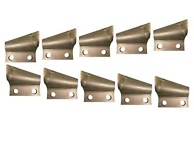 """B136025 B136024 1.75/"""" Bolt Centers Carbide Cupped Trenching Teeth 1/"""",1.65/"""""""