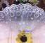 2 Yd bordure en dentelle tulle brodé ruban robe décoration à coudre Artisanat A71 environ 1.83 m