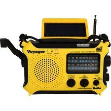 Kaito KA500, 5-way Powered Emergency AM/FM/SW NOAA Weather Alert Radio KA500-YEL