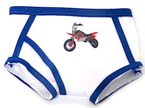Doll Clothes Boy for 18 inch American Girl 3 pack Cartoon Boy Underwear