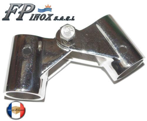 Collier articulé Pour tube de 22mm inox 316