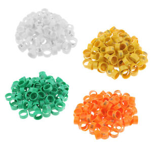 Details about 100pcs 20mm Clip Plastic Numbered Pigeon Leg Bands Duck  Chicken/ Goose Rings