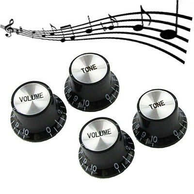 SET 4PCS Vintage Speed Control Knob For Gibson Les Paul Guitar NEW
