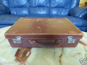 Super-antique-vintage-anglais-valise-steamer-trunk
