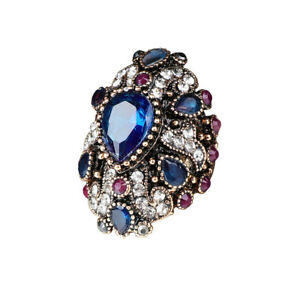 EG-Fashion-Shiny-Rhinestone-Punk-Women-Finger-Ring-Statement-Jewelry-Gift-Dream