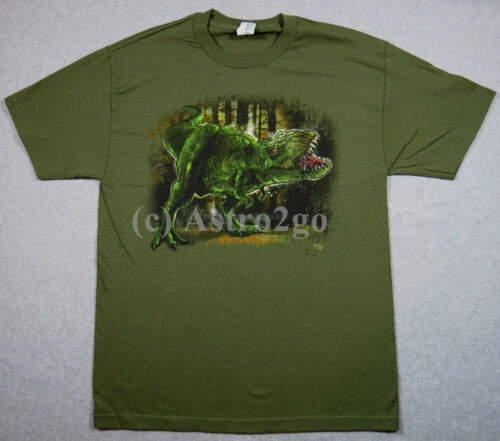 T-REX RAGE-Tyrannosaurus Dinosaur Jurassic Cretaceous Science T Shirt size M-XXL