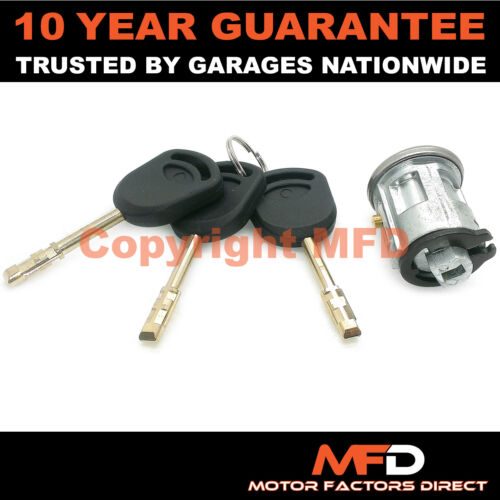 FOR FORD TRANSIT MK6 2000-2006 IGNITION SWITCH LOCK BARREL INCLUDES 3 KEYS